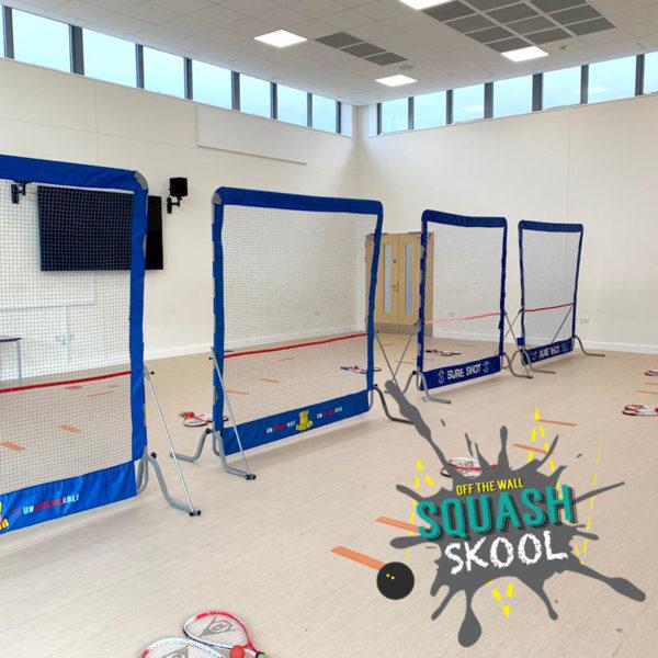 Off The Wall Squash - Primary School Squash - Squash SKOOL - Coaching