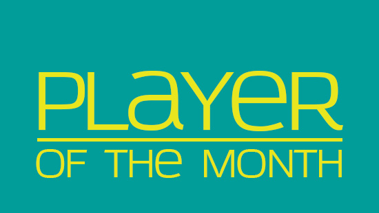 Player of the Month for February