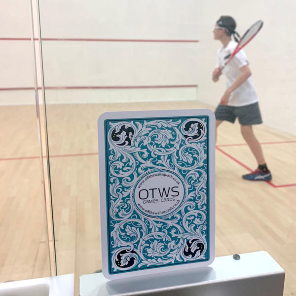 Off The Wall Squash - Playing Card Games - Coaching Resources