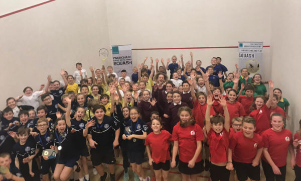 Off The Wall Squash - Primary School Squash - The Roman Cup - Coaching