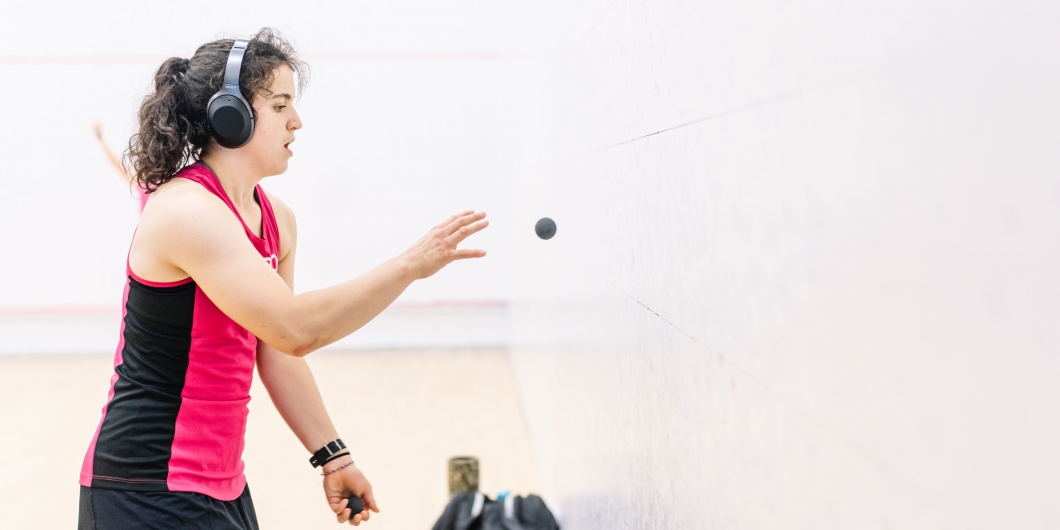 ADDERLEY HOPING TO USE WORLD CHAMPS EXPERIENCE AT ARION HOMES OFF THE WALL SQUASH OPEN
