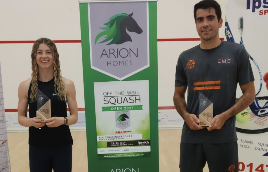 Georgina and Rui steal the show at OTWS Arion Homes Open final